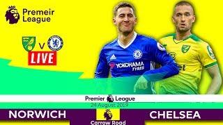 NORWICH CITY vs CHELSEA Live Stream HD + ENGLISH Commentary