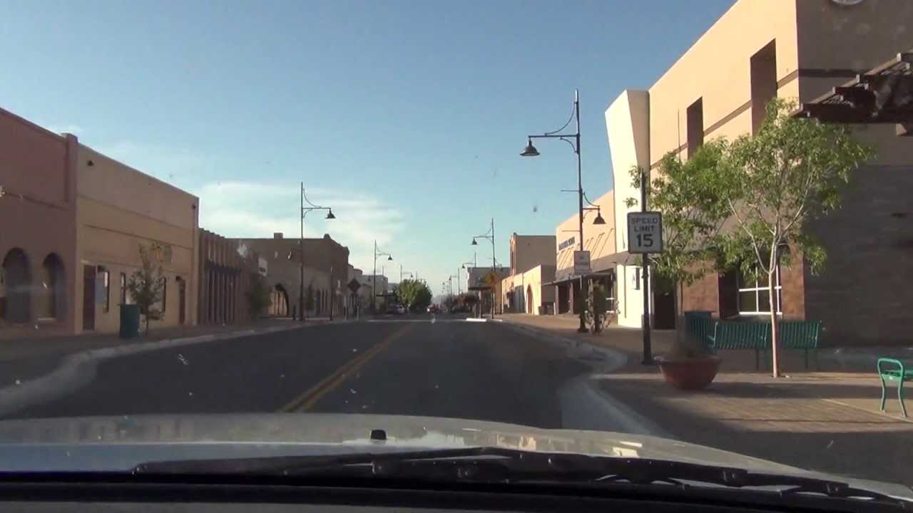 2013 main street north through downtown las cruces nm youtube