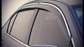 Wellvisors Rain Sun Wind Deflectors Sedan For Honda Accord 98-02 Window Visors