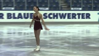 26 Leah KEISER (USA) - JGP GER / Chemnitz Junior Ladies Free Skating