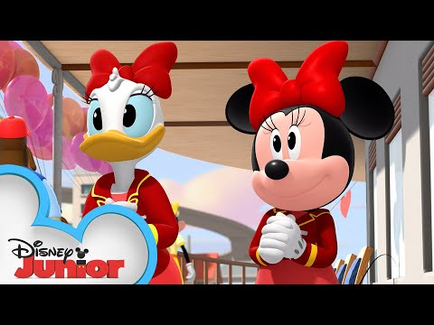 Happy Helpers Valentine's Day Party!| Mickey Mouse Roadster Racers | Disney Junior