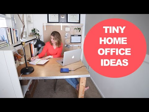 Budget Small Office Makeover - Home Office Inspiration