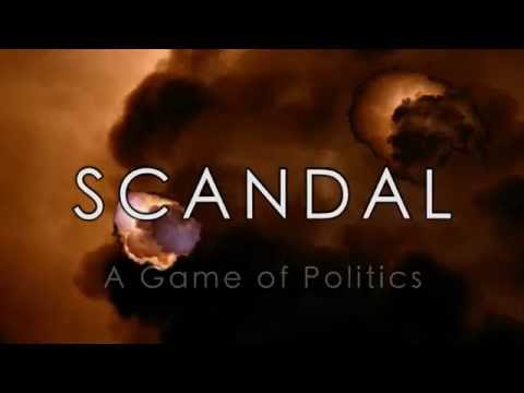 Scandal - CitComm board game - Tutorial