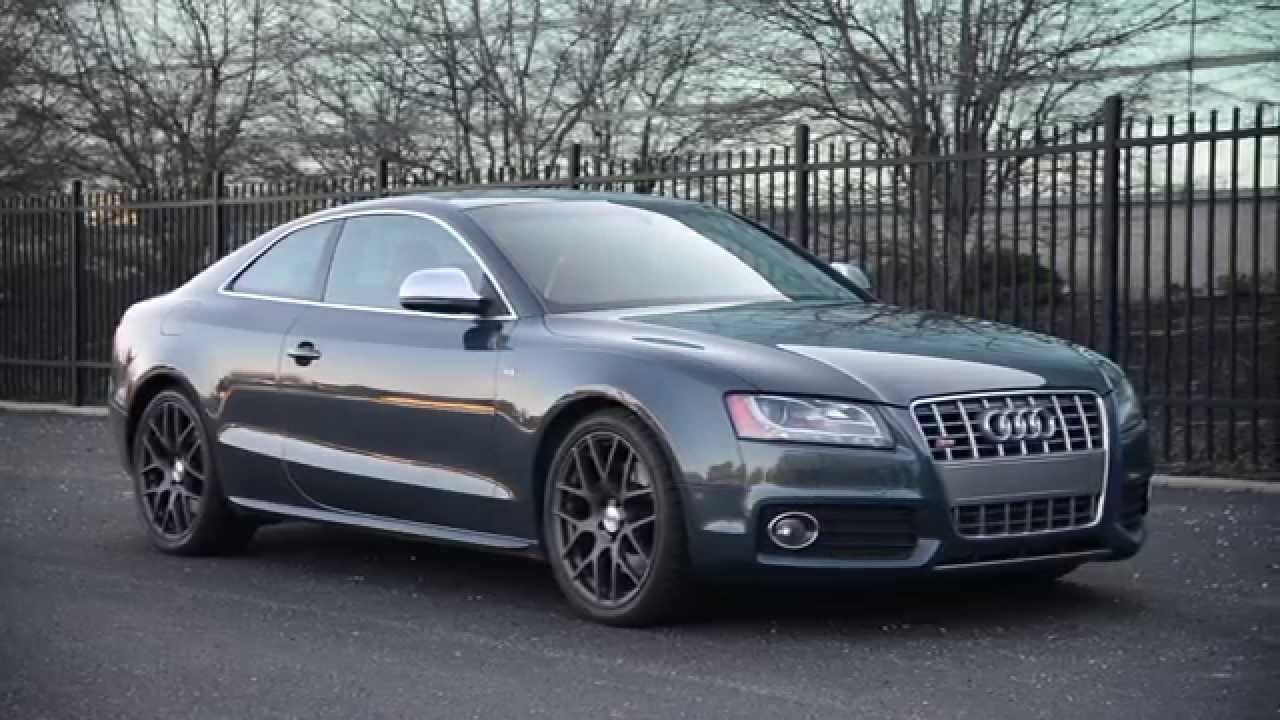 2008 audi s5 with awe tuning exhaust wr tv sights. Black Bedroom Furniture Sets. Home Design Ideas