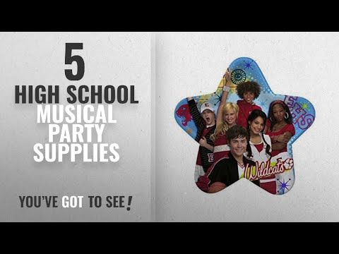 Top 10 High School Musical Party Supplies [2018]: High School Musical 3 Lunch Plates 8ct