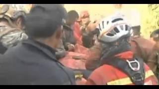 Culmina con éxito el laborioso rescate del espeleólogo español en Perú