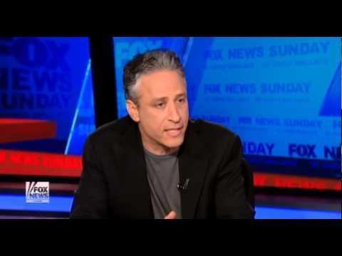 Jon Stewart Vs  Chris Wallace On Fox Bias  version