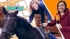 TRICKS auf dem Pferd | VOLTIGIEREN | Flitzi auf dem Reiterhof | UNTERWEGS | TOGGO Show
