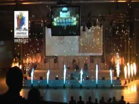 Velký Interiérový ohňostroj od Pyro-jiva rok 2009