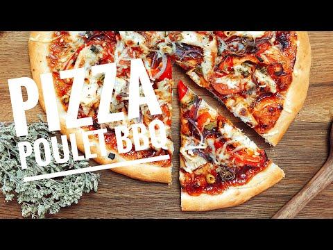 recette-pizza-poulet-barbecue-maison-facile-🍕
