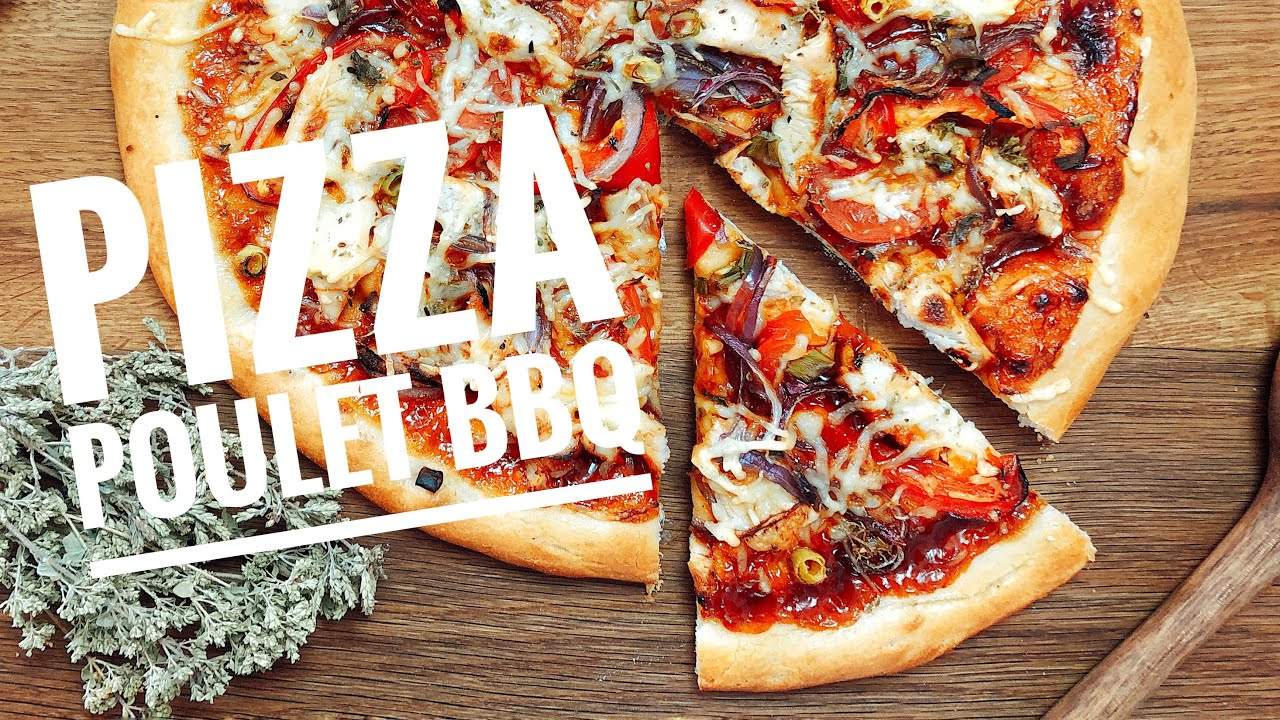 Recette pizza poulet barbecue maison facile youtube - Youtube herve cuisine ...