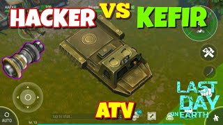 DRIVE 'ATV' HACKER VS KEFIR! in Last Day on Earth : Survival