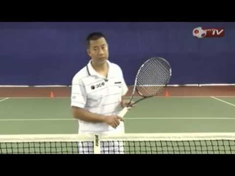 Học tennis qua video Phần 4 - Thuận tay số 5 cú trái 1 tay