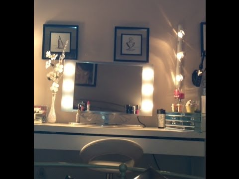 Vanitygirlhollywood Mirror Review And Show And Tell Youtube