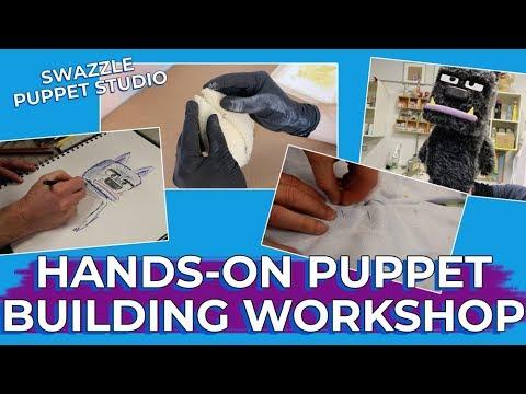 Hands-On Puppet Building Workshop at Swazzle Puppet Studio