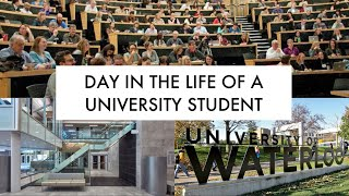 DAY IN THE LIFE OF A UNIVERSITY OF WATERLOO STUDENT! - iPhone Vlog