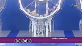 Resultado da Lotofácil concurso 1166 dia 02/02/2015 (Momento da Sorte - RedeTV)