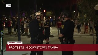 SPECIAL REPORT | Protesters take to Tampa Bay streets