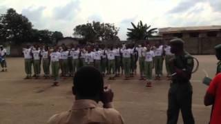 NYSC Parade challenge Batch C 2013...