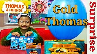 GIANT BALLOON Surprise Thomas the Tank Engine and Friends Videos Worlds Biggest Balloon Ever