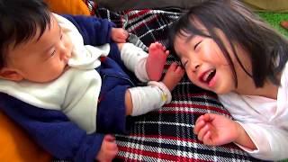 【赤ちゃんはな☆こなつ4歳】赤ちゃんにメロメロ♡