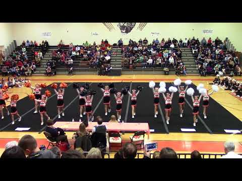 The Nokesville School Spirit Spectacular Cheer Competition 2018