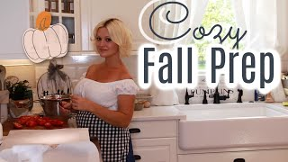 Cozy Fall Home Prep! Fąll Routines & Living Ideas 2021🍁☕️🍂