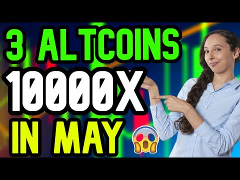 3 ALTCOINS 10000X IN MAY - 3 ALTCOINS MAY - TOP 3 ALTCOINS - THE NEXT BITCOIN - FOX FINANCE TOKEN