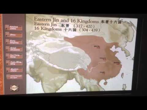 Asian Civilisations Museum - Chines Dynasties Timeline