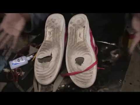 Como consertar seu Tênis furado - How to Repair Your Sneakers Holes
