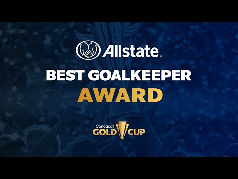 Gold Cup Best Goalkeeper Award presented by Allstate