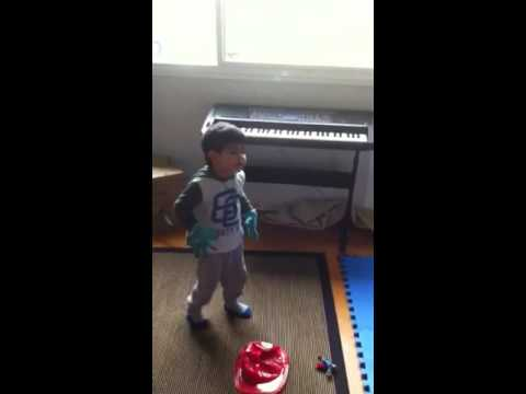 Toddler's music appreciation