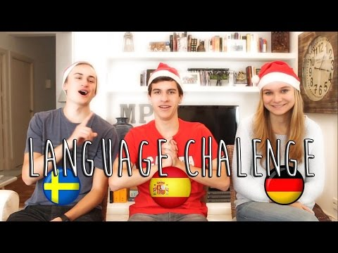 Language Challenge (German-Spanish-Swedish)