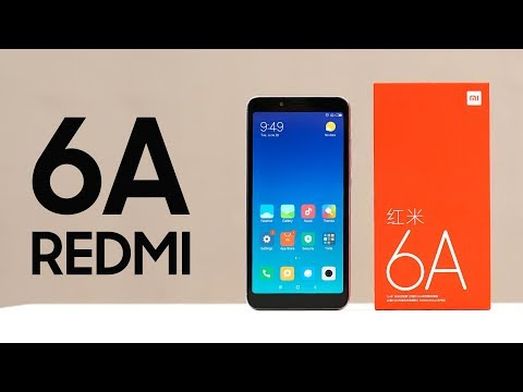 Распаковка Xiaomi Redmi 6A. Ждем Redmi 6 Pro и Redmi 6