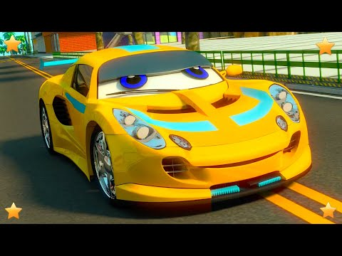 Colors with Cars   Kindergarten Kids Song & Nursery Rhyme Collection by  by Little Treehouse S03E127
