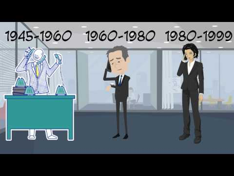 "Example of ""explainer video"" Generations In The Workplace"