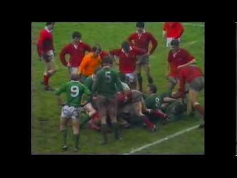 Ireland V Wales 1984 - Rugby International - Lansdown Rd, Dublin