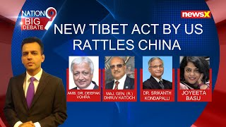 New Tibet Act By US Rattles China   Xi Retaliates, Conducts Air Drill Over Lhasa   NewsX