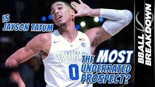 Is Jayson Tatum The MOST UNDERRATED Prospect In The NBA Draft? thumbnail