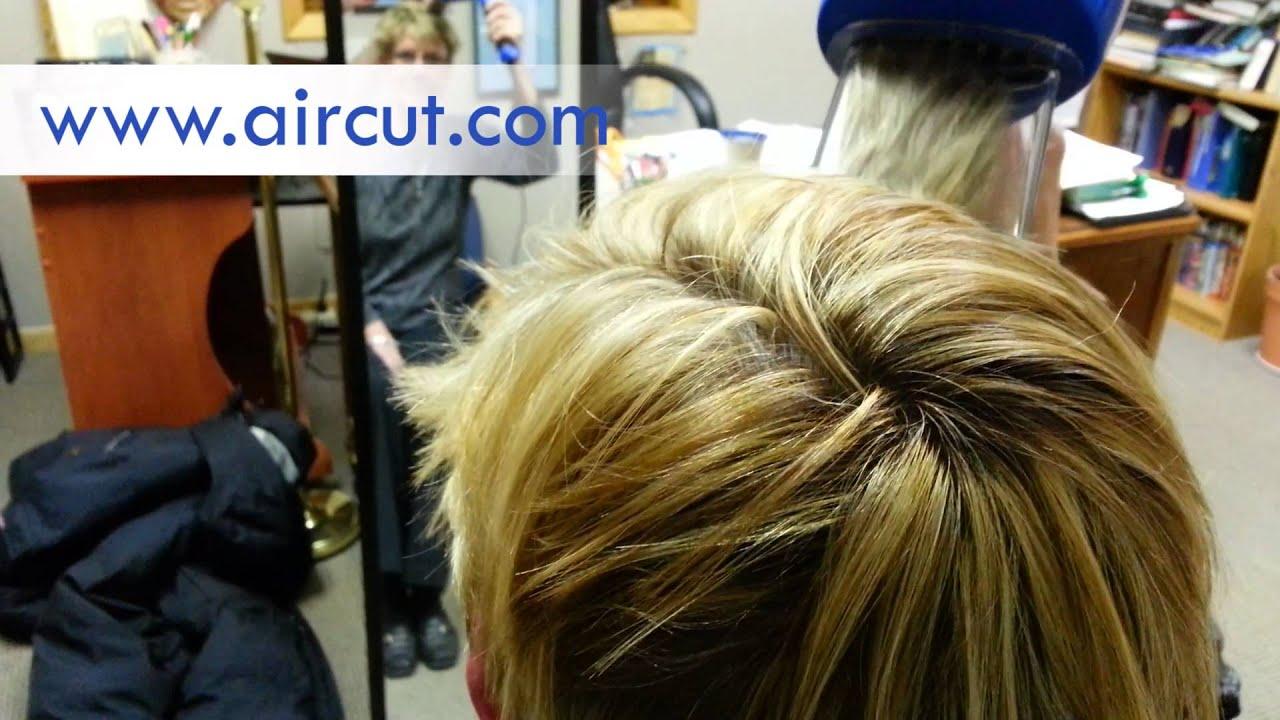 Women LOVE the AirCut Vacuum Hair Clippers - YouTube