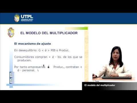 UTPL EL MODELO DEL MULTIPLICADOR [(ECONOMÍA)(MACROECONOMÍA)] de YouTube · Duración:  12 minutos 50 segundos