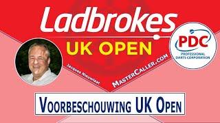 Voorbeschouwing 2021 UK Open