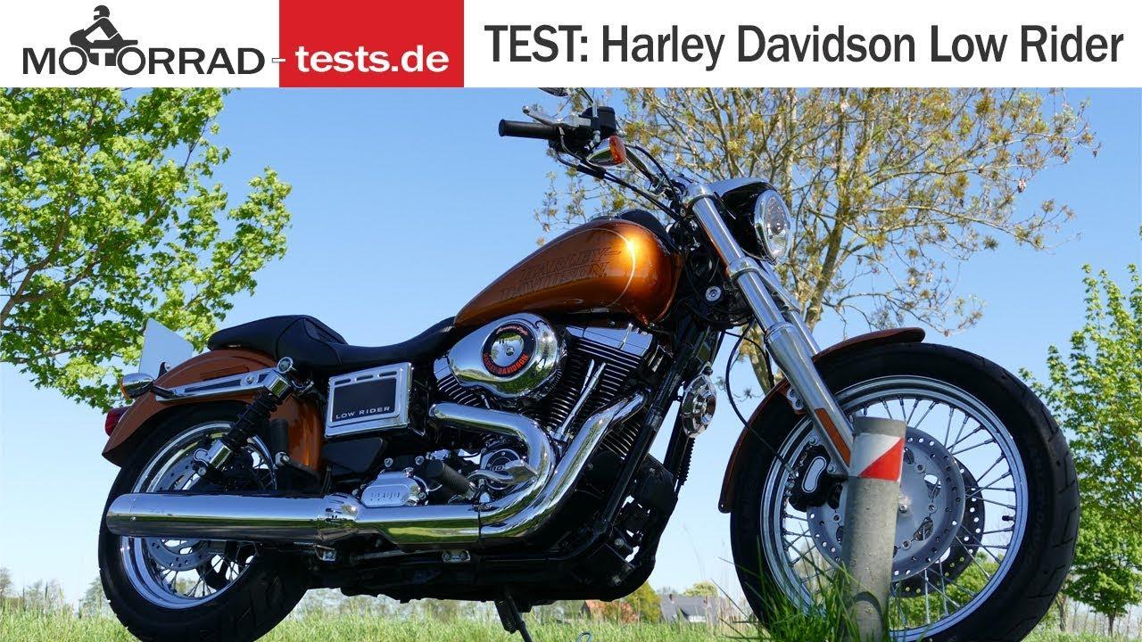 Harley Davidson Low Rider FXDL | TEST (deutsch) - YouTube