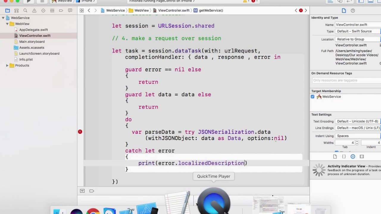 How to parse Json : Populate UITableview using REST API, Xcode 8 2 1 and  Swift3 0