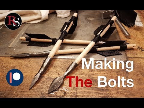 How To Make A Crossbow - Part IV - Making The Bolts