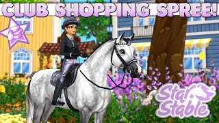 Star Stable - Club Horses and Outfits Shopping Spree! 🛍️🐴