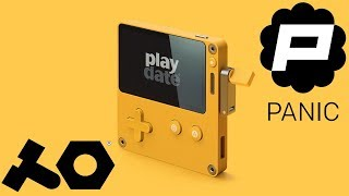 A NEW handheld console with a.....CRANK?? | Panic Playdate