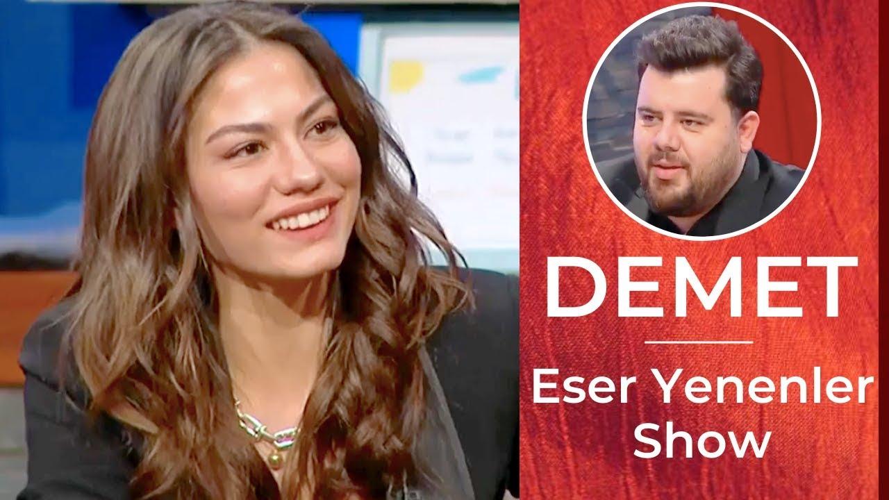 Demet Ozdemir ❖ Interview ❖ Eser Yenenler Show❖ Dogdugun Ev Kaderindir ❖ Jan 13th, 2020