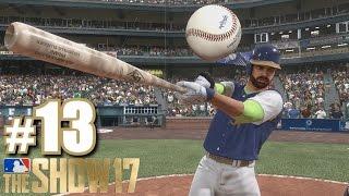 AWESOME REMATCH AGAINST TDBARRETT! | MLB The Show 17 | Diamond Dynasty #13