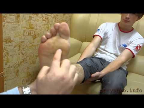 Как избавиться от намина на пальце ноги
